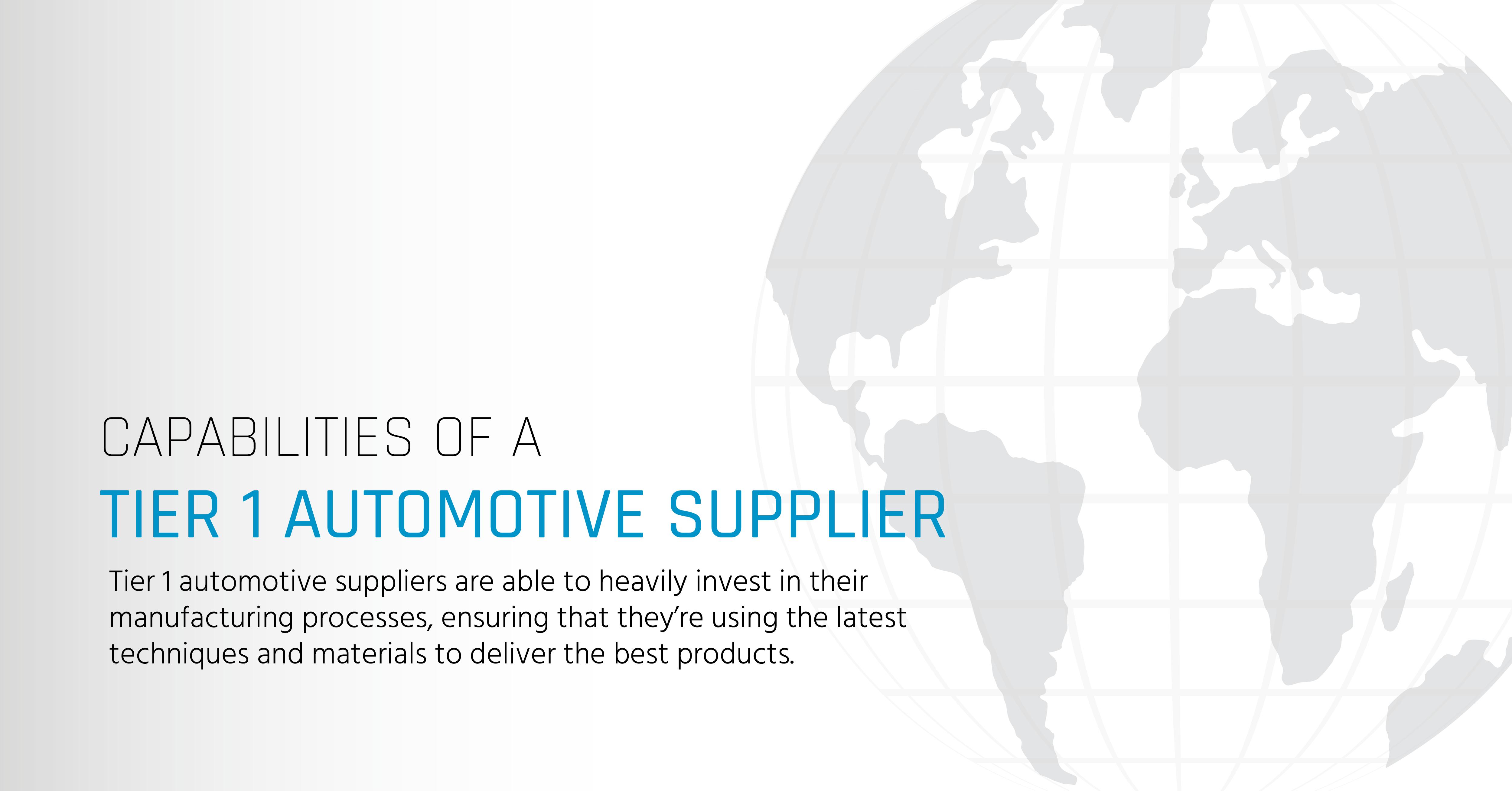 Tier 1 Automotive Parts