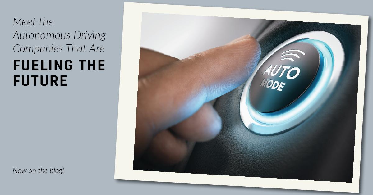 autonomous car companies